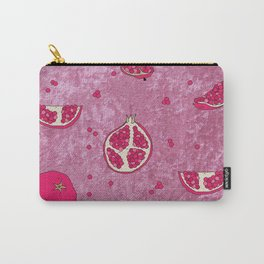 Crushed Pomegranate Carry-All Pouch