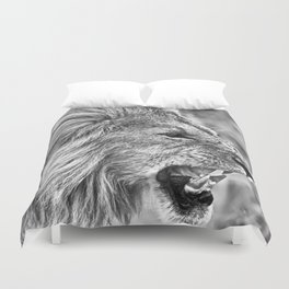 Fierce Lion Duvet Cover