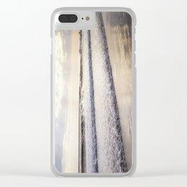 Ocean Dreams Clear iPhone Case