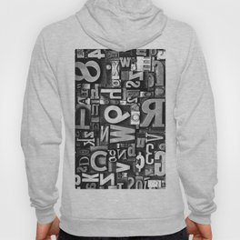 Metal Madness - Typography Photography™ Hoody