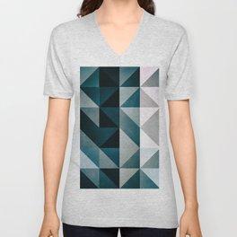 :: geomatric maze XII :: Unisex V-Neck