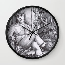 Hannibal - Animal Elegance Wall Clock