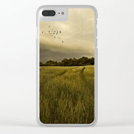 A Countryside Summer Clear iPhone Case