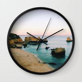 Oceanside Sunset Wall Clock