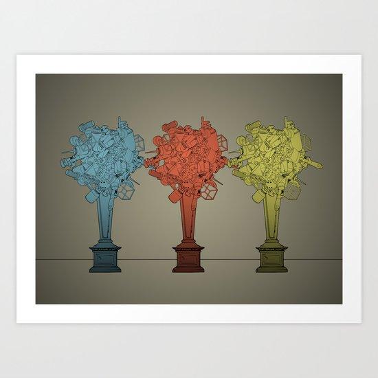 Fleur Rediculum Ad Nauseum Art Print