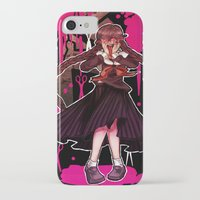 dangan ronpa iPhone & iPod Cases featuring Syo by mad-maddie