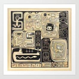 Psychonautes Art Print
