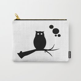 the owl awake Carry-All Pouch