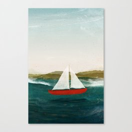The Boat that Wants to Float Canvas Print