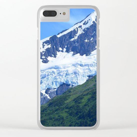 Whittier Glacier Clear iPhone Case