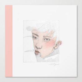 Pink Yeoli Canvas Print