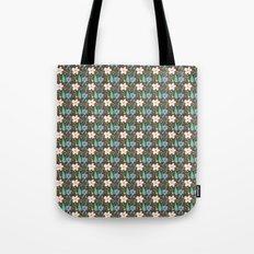 Fun Floral Pattern Tote Bag