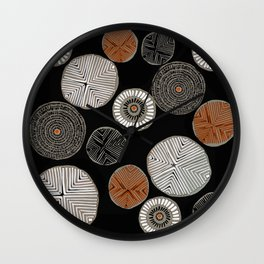 Tribal Chic Wall Clock