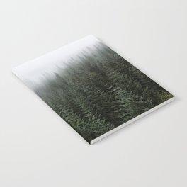 Dizzying Misty Forest Notebook