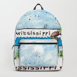 Mississippi Gulf Coast Backpack