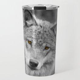 Wolf eyes Travel Mug