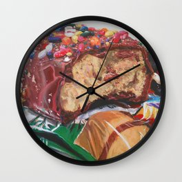 Birthday Cake Egg Wall Clock