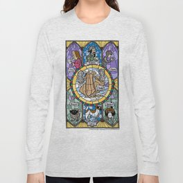 The Adoration of the Squirrel Long Sleeve T-shirt