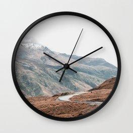 Terrain Wall Clock