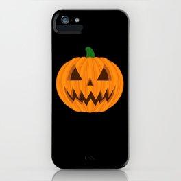 Jack O Lantern iPhone Case