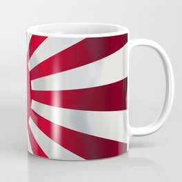 Japanese Rising Sun Flag Coffee Mug