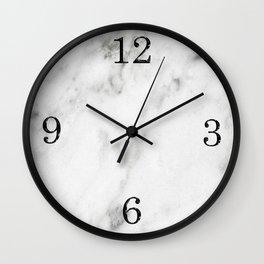 Marble Clock Wall Clock