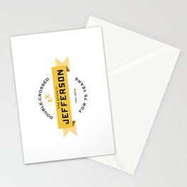 State of Jefferson 75th Anniversary Logo Stationery Cards