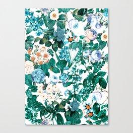 SUMMER BOTANICAL IV Canvas Print
