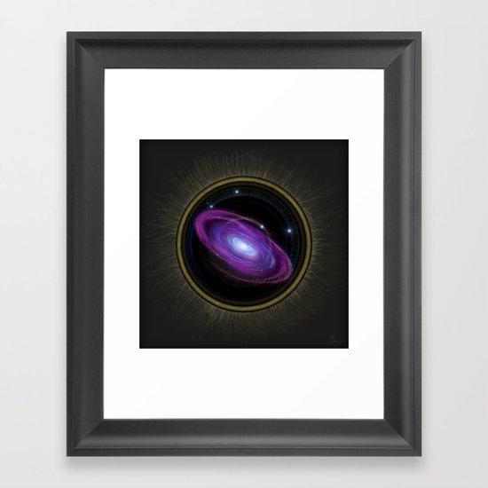 Space Travel - Painting Framed Art Print