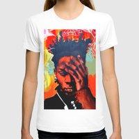 basquiat T-shirts featuring Basquiat  by jack shaftoe
