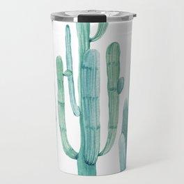 Cacti Fam Turquoise Travel Mug