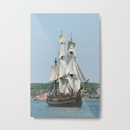 The Tall Ship Bounty Metal Print