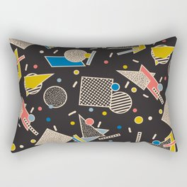 Memphis Inspired Design 8 Rectangular Pillow