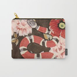 guccii snake red Carry-All Pouch