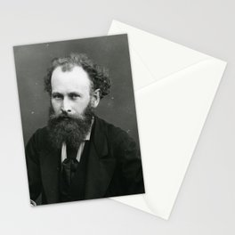 Portrait of Manet by Nadar Stationery Cards