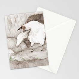 Vulture Chick Stationery Cards