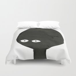 Finding him was hard. Letting him go would be impossible Duvet Cover