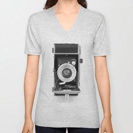 Vintage Camera No. 1 Unisex V-Neck