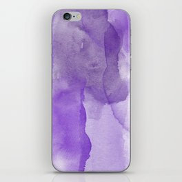 Ultra Violet Watercolor iPhone Skin