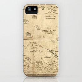 Map of Imirillia iPhone Case