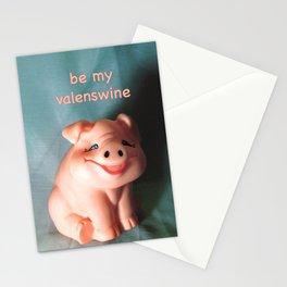 Refrigerator Pig Stationery Cards