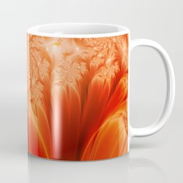 Fractal The Heat of the Sun Coffee Mug