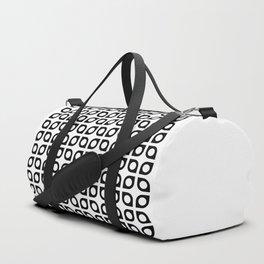 Geometric Pattern #37 (curves circles) Duffle Bag