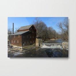Pine Creek Grist Mill Metal Print