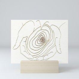 Word Association - Age Mini Art Print