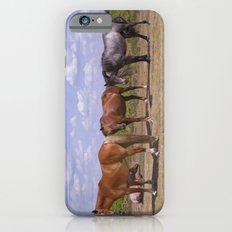 New Forest Ponies iPhone 6s Slim Case