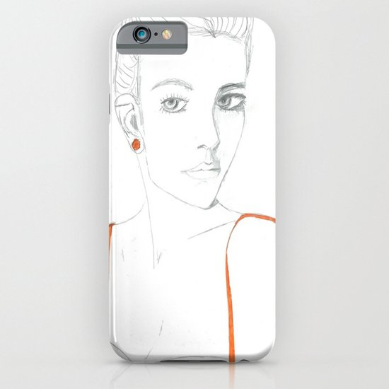 Carey Mulligan iPhone & iPod Case