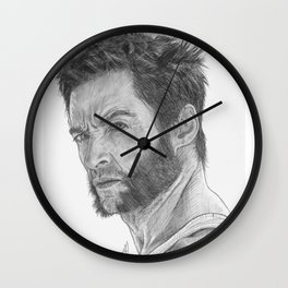 Logan Portrait Wall Clock