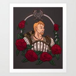 Beautiful Rose Art Print
