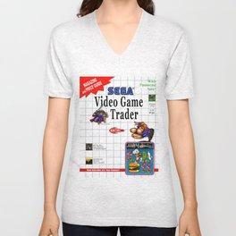 Video Game Trader #31 Cover Design  Unisex V-Neck